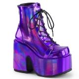 Hologram 13 cm DEMONIA CAMEL-203 goth ankle boots