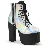 Hologram 14 cm TORMENT-712 lolita ankle boots platform
