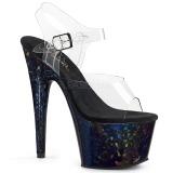 Hologram 18 cm Pleaser ADORE-708HSP Pole dancing high heels shoes