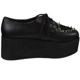 Konstläder 7 cm GRIP-02 lolita skor goth platåskor med tjock sula