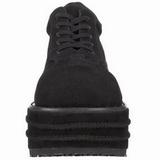 Konstläder 9 cm TEMPO-08 Platå Goth Skor för Män