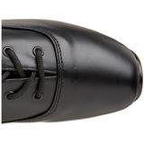 Läder 18 cm BALLET-2020 fetish balett stövlar