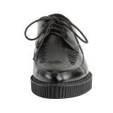 Läder 3 cm CREEPER-712 Platå Creepers Skor för Män