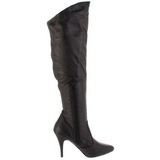 Leather 10 cm VANITY-2013 Women Knee Boots