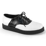 Leather 2,5 cm CREEPER-606 Platform Mens Creepers Shoes