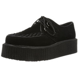 Leatherette 5 cm CREEPER-502S Platform Mens Creepers Shoes
