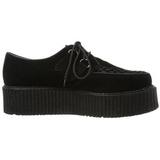 Leatherette 5 cm CREEPER-502S Platform Mens Creepers Shoes