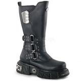 Leatherette 5 cm DMA-3003 Platform Mens Gothic Boots