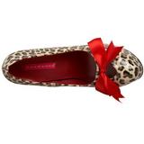 Leopard 14,5 cm Burlesque TEEZE-12 Womens Shoes with High Heels