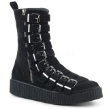 Mocka 4 cm SNEEKER-315 sneakers creepers skor för män