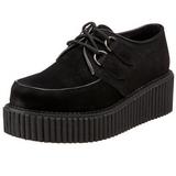 Mocka 5 cm CREEPER-101 creepers skor dam platåskor tjock sula