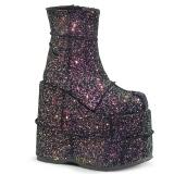 Multi Glitter 18 cm STACK-201G Platå Stövletter för Män