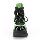 Neon 7,5 cm NEPTUNE-126 demonia stövletter - unisex cyberpunk stövletter