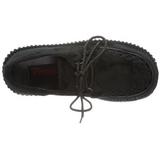 Päls 7,5 cm CREEPER-202 creepers skor dam platåskor tjock sula