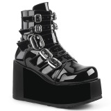 Patent 11 cm CONCORD-57 lolita ankle boots platform