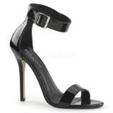 Patent 13 cm AMUSE-10 transvestite shoes