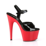Patent 18 cm ADORE-709 Red Platform High Heels Shoes