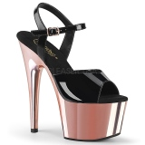 Patent 18 cm ADORE-709 Rose Platform High Heels Shoes