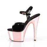 Patent 18 cm ADORE-709 Rose Platform High Heels Shoes