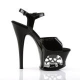 Patent 18 cm MOON-709SK Platform High Heels Shoes