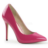 Pink Lackerade 13 cm AMUSE-20 Dam Pumps Stilettskor
