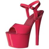 Pink Neon 18 cm Pleaser SKY-309UV Platform High Heels