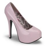 Pink Shiny 14,5 cm BORDELLO TEEZE-06 Platform Pumps