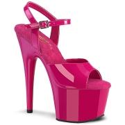 Pink platå 18 cm ADORE-709 pleaser high heels skor