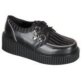 Randig 5 cm CREEPER-113 creepers skor dam platåskor