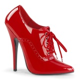 Red 15 cm DOMINA-460 oxford high heels shoes