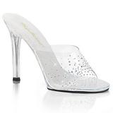 Rhinestones 11,5 cm FABULICIOUS GALA-01SD womens mules shoes