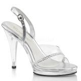 Rhinestones 11,5 cm FLAIR-456 high heeled sandals