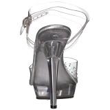 Rhinestones 13 cm LIP-108SD high heeled sandals