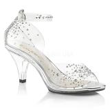 Rhinestones 8 cm BELLE-330RS transvestite shoes