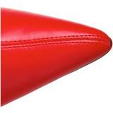 Röd 9,5 cm WONDER-130 Knähöga Stövlar Dam