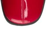 Röd Lack 7,5 cm Funtasma GOGO-306 Stövlar Dam