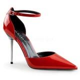 Röd Lackläder 10 cm APPEAL-21 stora storlekar stilettos skor