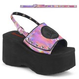 Rose 9 cm Demonia FUNN-32 lolita platform sandals