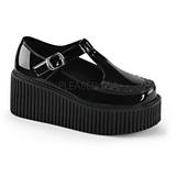 Shiny CREEPER-214 Platform Women Creepers Shoes