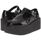 Shiny CREEPER-214 Platform Women Creepers Shoes