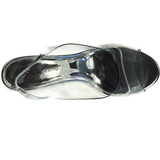 Silver 10,5 cm LOVELY-450 Wedge Sandaletter med Kilklack