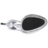 Silver 16,5 cm Pleaser ECLIPSE-601DM Strass Platå Höga Slip in Mules