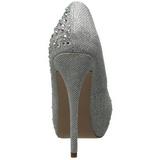 Silver Rhinestone 13 cm DESTINY-06R Platform Pumps Women Shoes