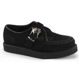 Suede 2,5 cm CREEPER-605 Platform Mens Creepers Shoes