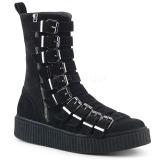 Suede 4 cm SNEEKER-315 Mens sneakers creepers shoes
