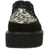 Suede 5 cm CREEPER-400 Platform Mens Creepers Shoes