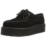 Suede 5 cm CREEPER-402S Platform Mens Creepers Shoes