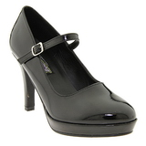 Svart 10 cm CONTESSA-50 Mary Jane Pumps Skor