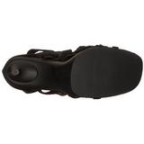 Svart 11,5 cm CHIC-26 Högklackade skor med stilettklack