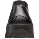 Svart 13,5 cm DYNAMITE-01 Platå Goth Flip Flops Dam